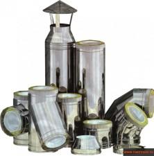 Элементы систем дымоходов